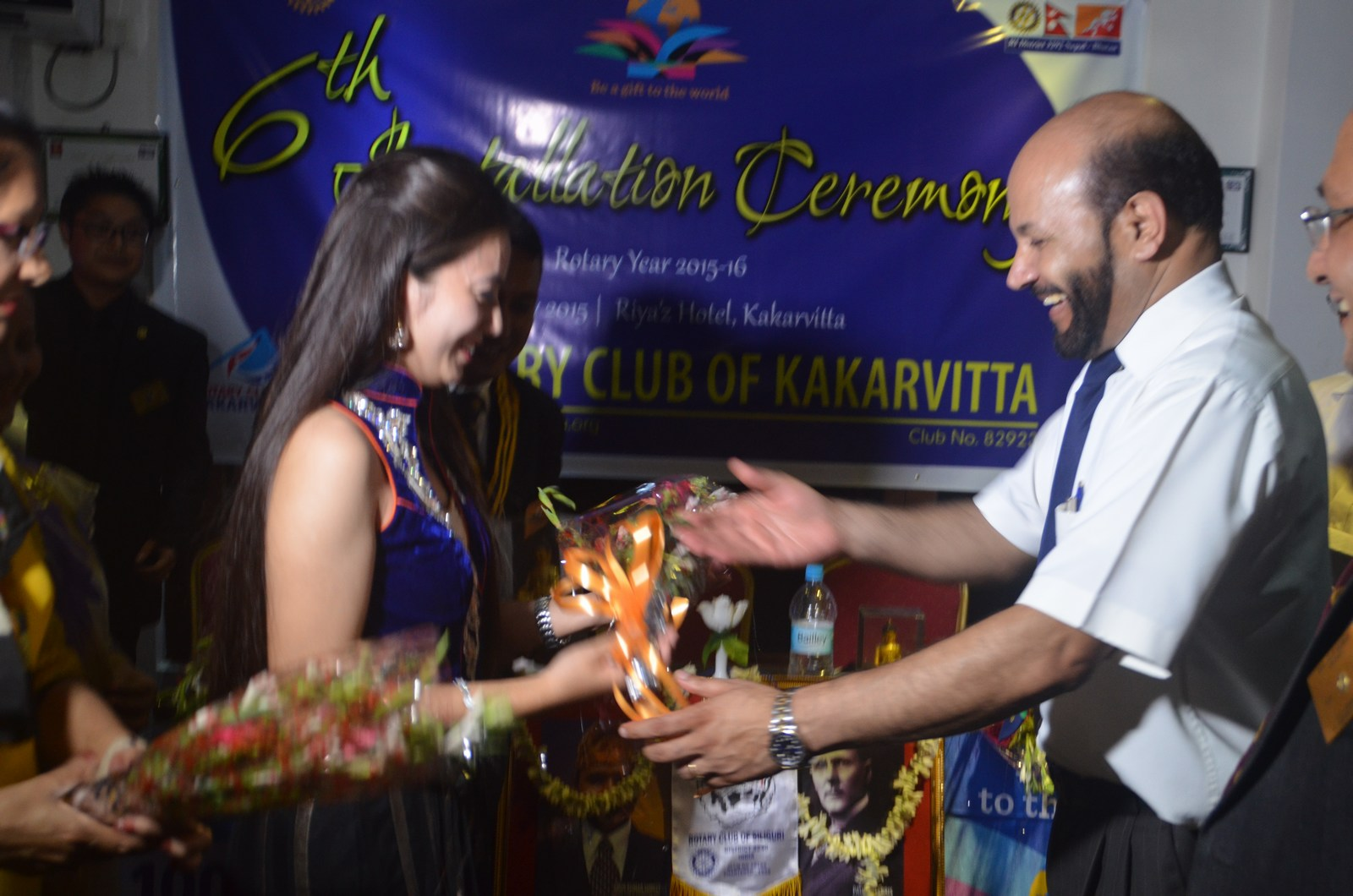 6th Installation Ceremony 2015 16 Rotary Club Of Kakarvitta 60