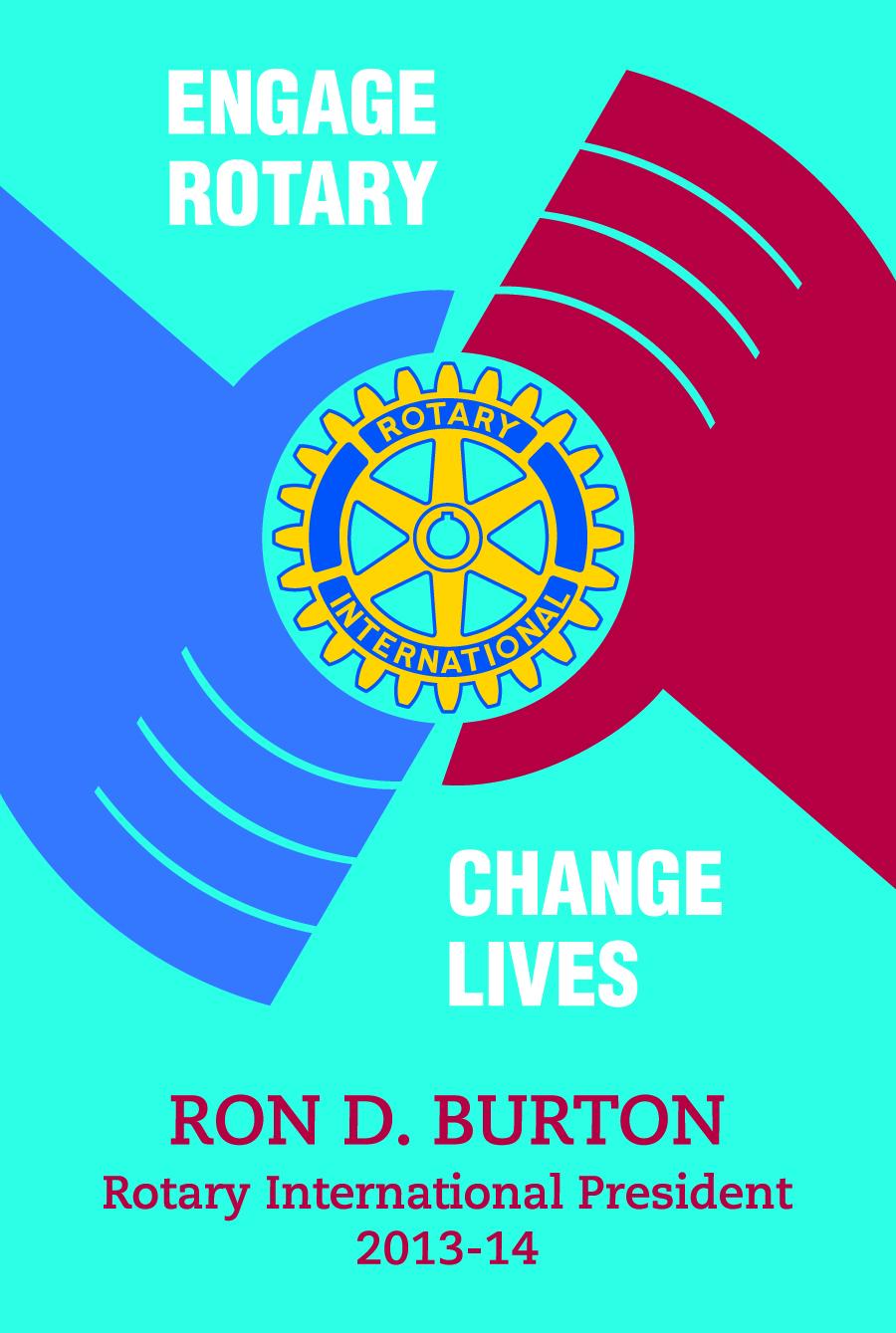 rotary international theme engage rotary change lives 2013 14