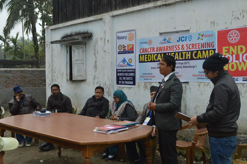 Cancer Awareness Screening Medical Health Camp 23