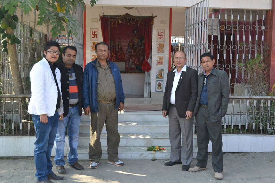 Charity To Shree Hanuman Temple 3
