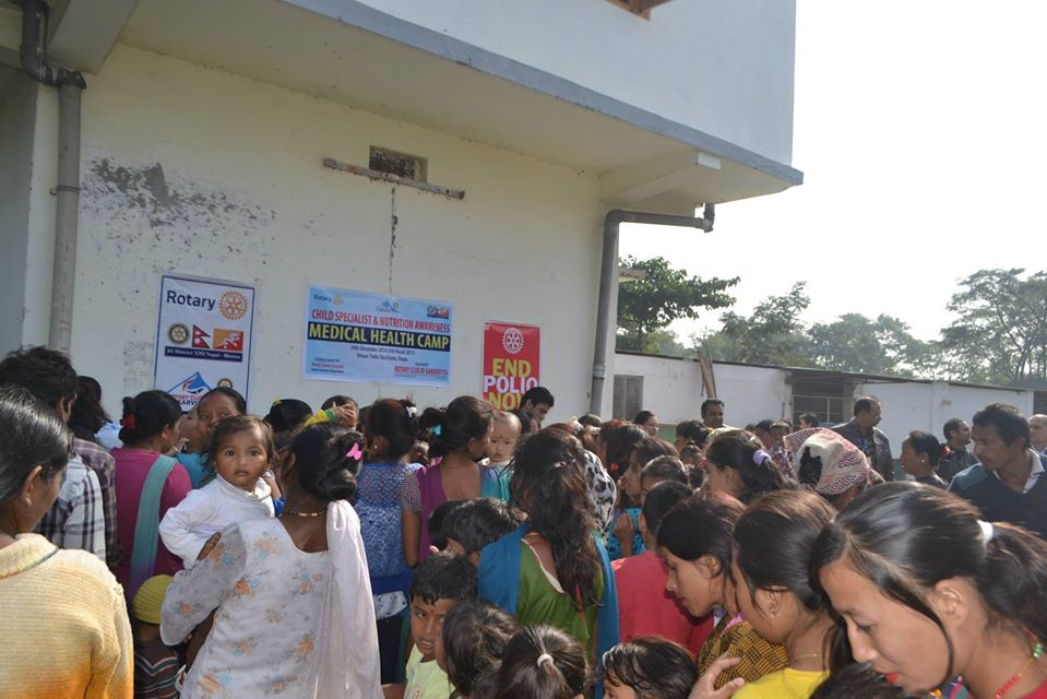 Child Specialist Nutrition Awareness Health Camp 2