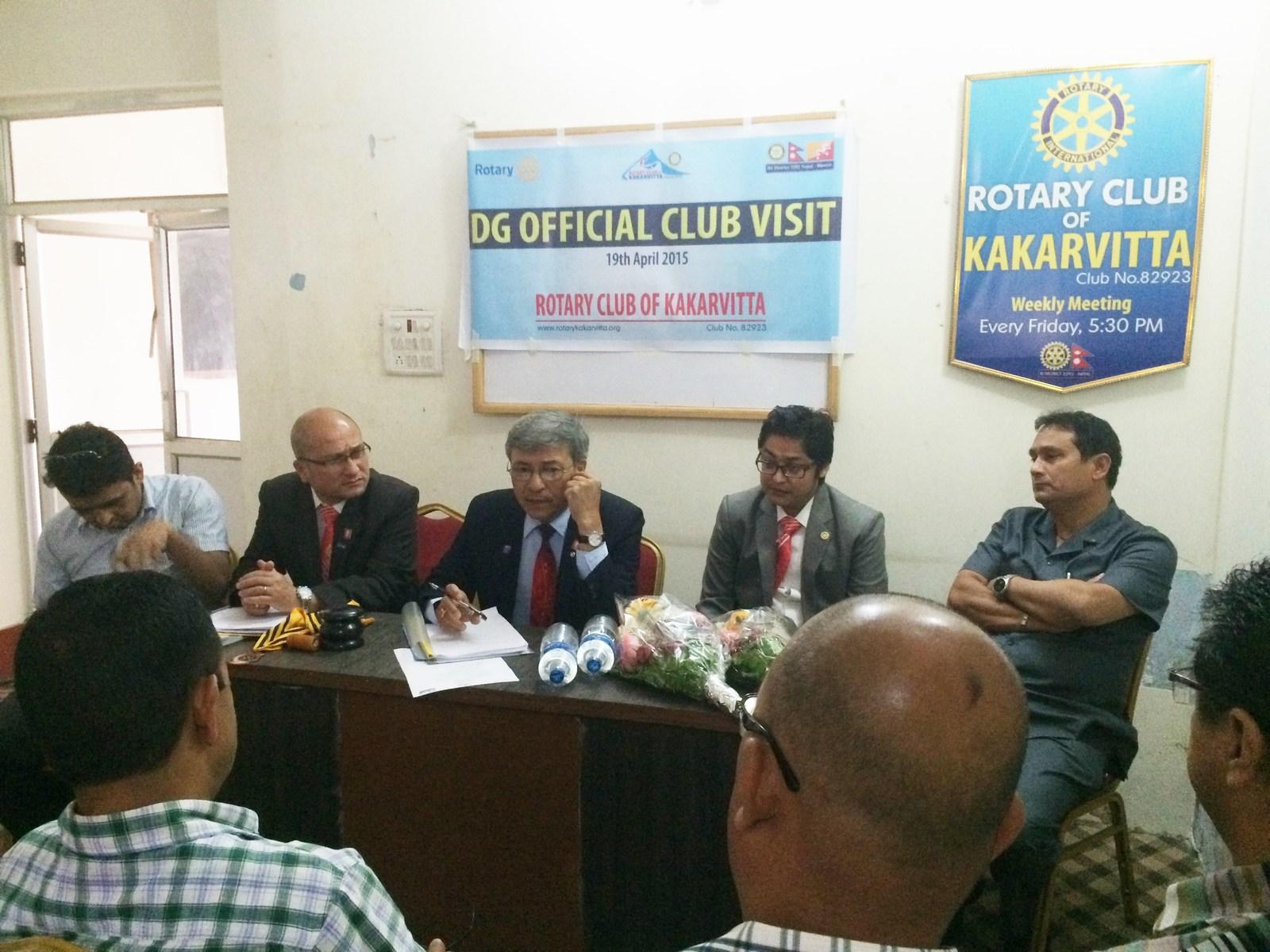 Dg Official Visit 2014 15 1
