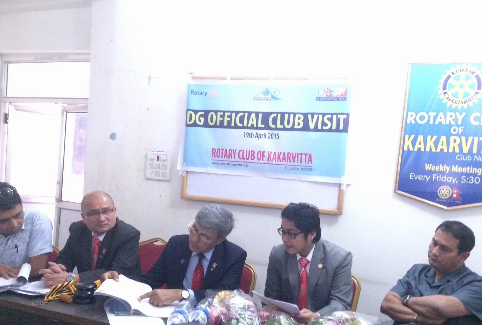 Dg Official Visit 2014 15 4