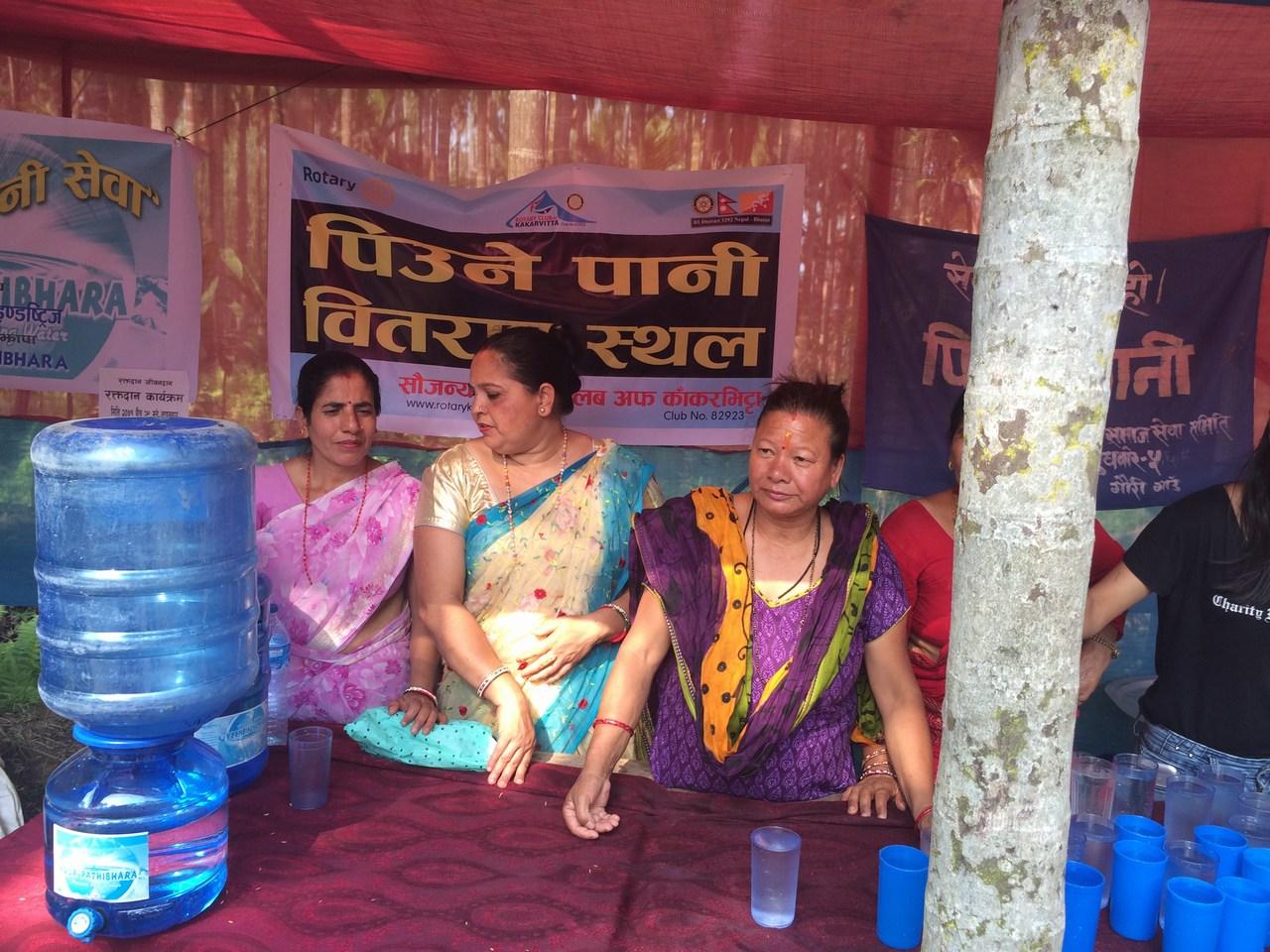 Drinking Water Distribution On Mahayagya Rotary Club Of Kakarvitta 13