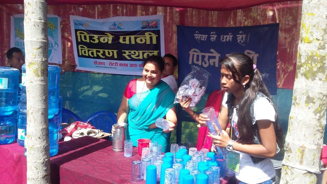 Drinking Water Distribution On Mahayagya Rotary Club Of Kakarvitta 2