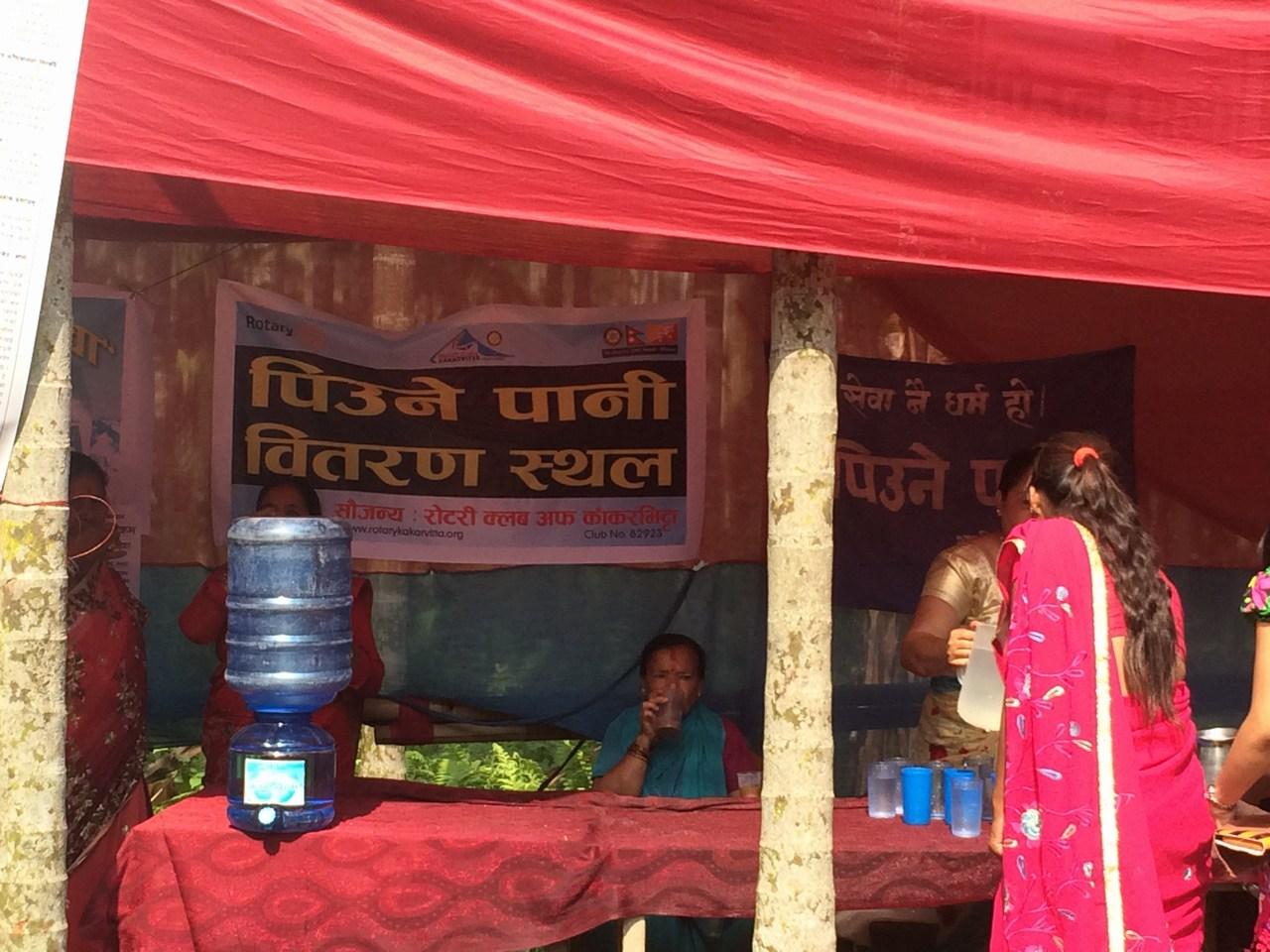 Drinking Water Distribution On Mahayagya Rotary Club Of Kakarvitta 3