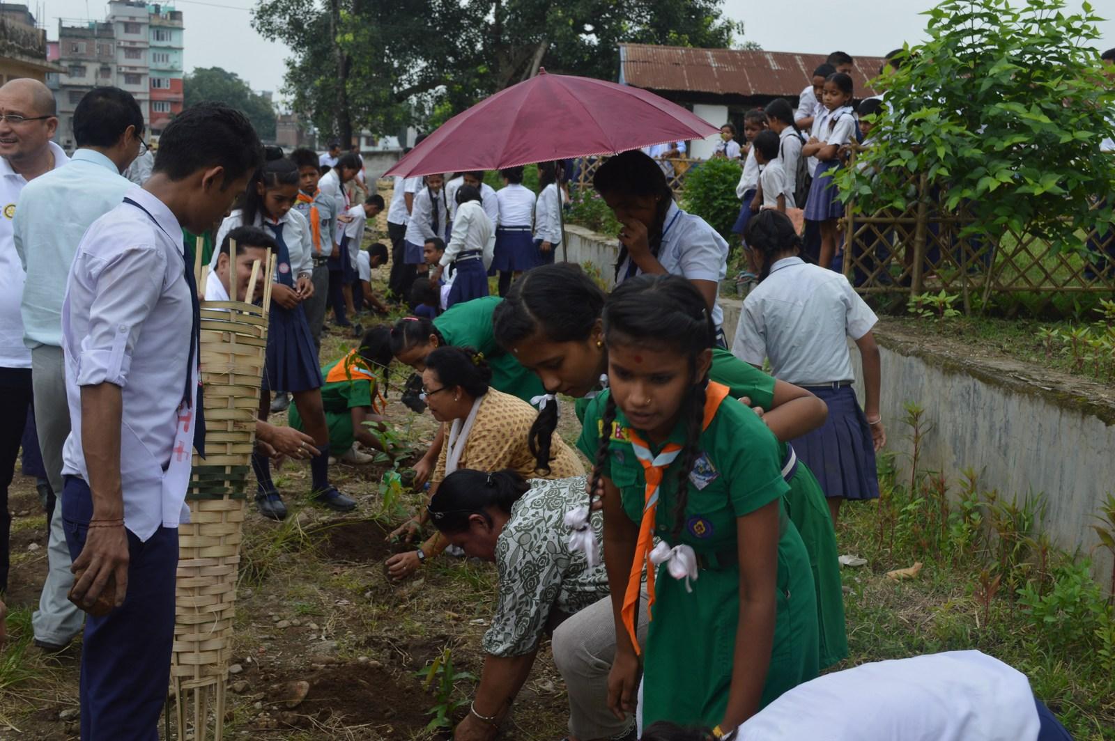 Enviroment Orientation Tree Plantation Rotary Club Of Kakarvitta 15