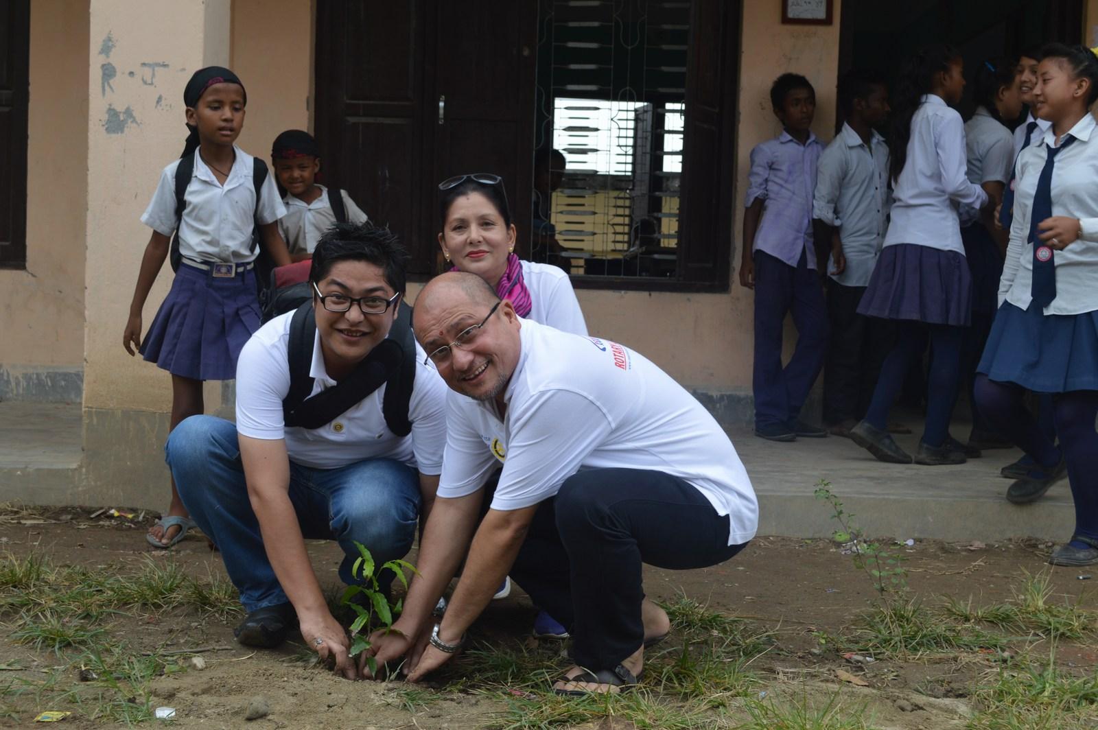 Enviroment Orientation Tree Plantation Rotary Club Of Kakarvitta 16