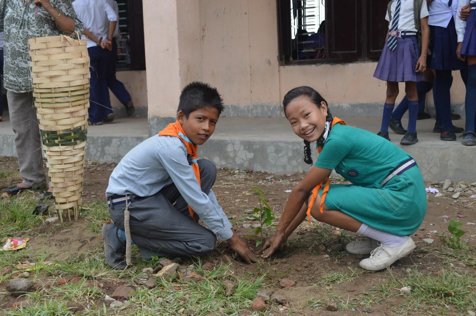 Enviroment Orientation Tree Plantation Rotary Club Of Kakarvitta 19