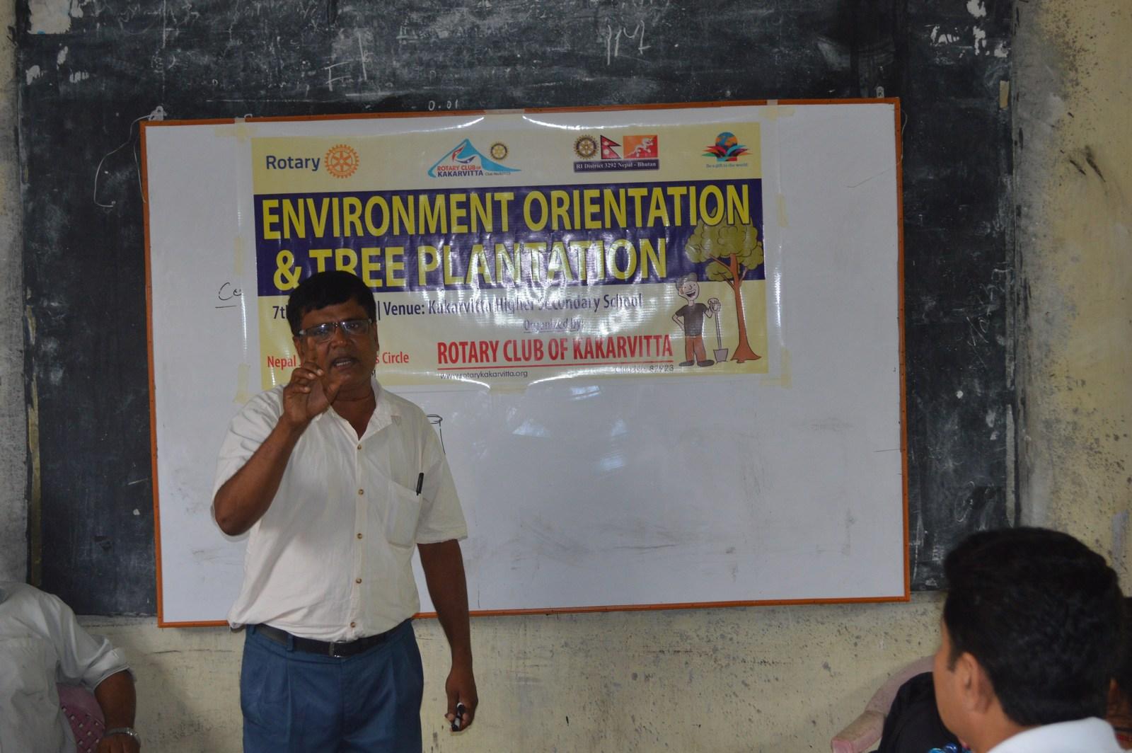 Enviroment Orientation Tree Plantation Rotary Club Of Kakarvitta 7
