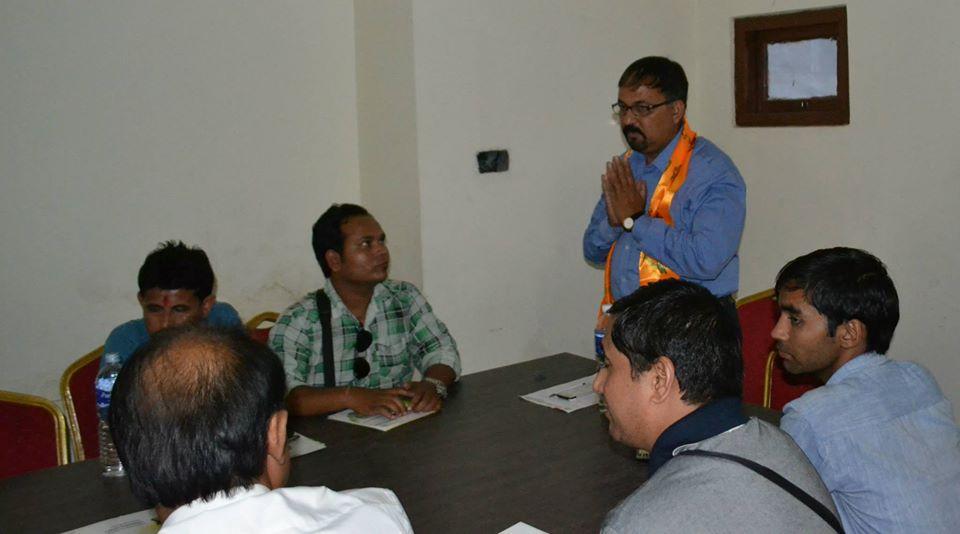 Guest Speaker Dr. Pankaj Chowdhary 2014 5