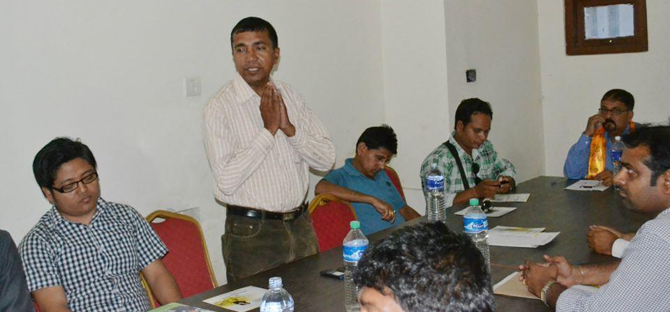 Guest Speaker Dr. Pankaj Chowdhary 2014 8
