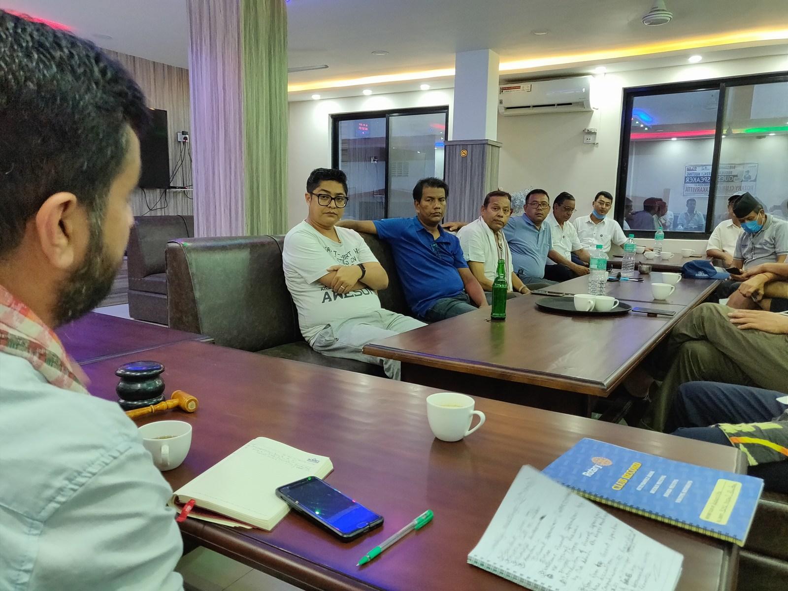 Guest Speaker Mr. Ujjwal Prasai Rotary Club Of Kakarvitta 8