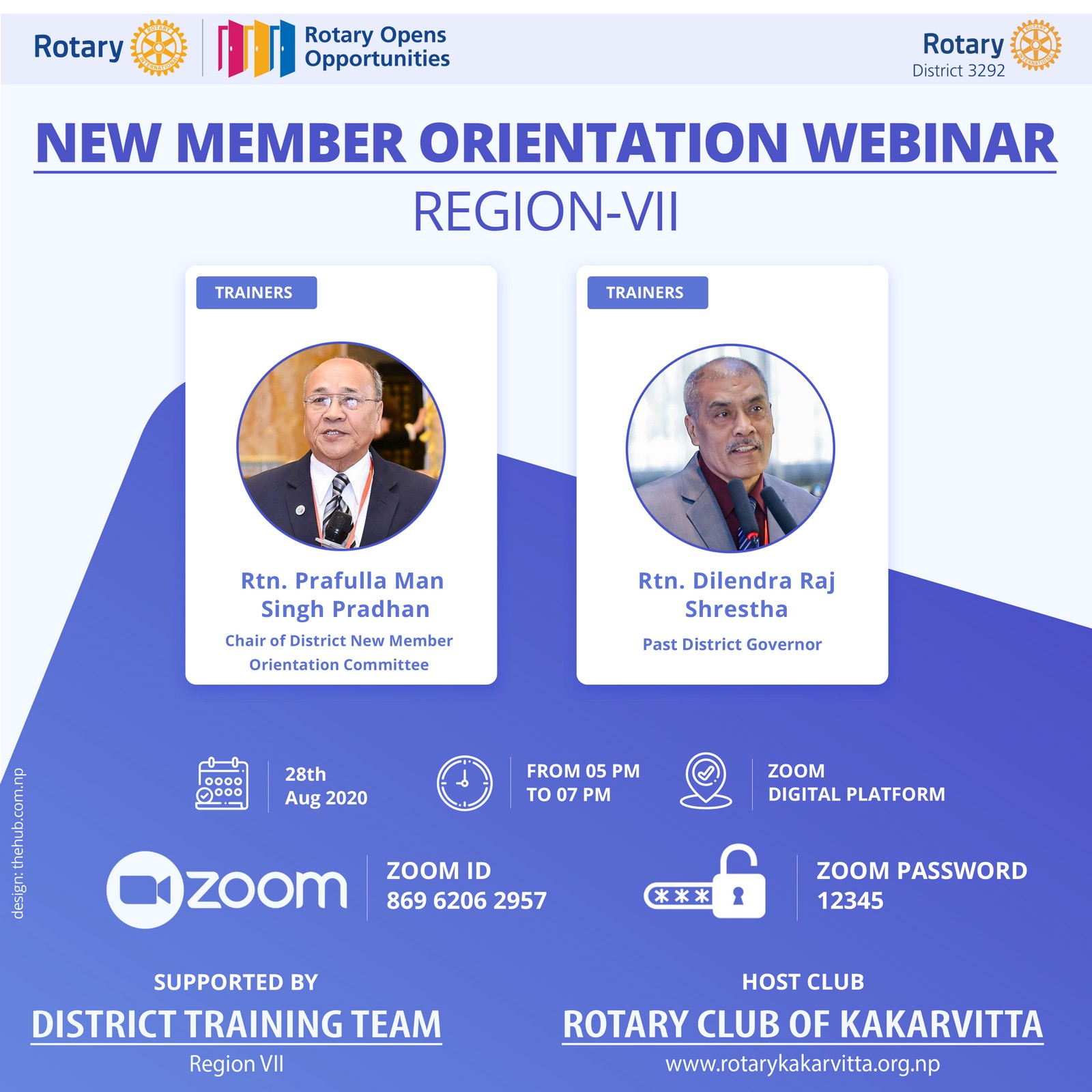 New Member Orientation Webinar Region 7 Rotary Club Of Kakarvitta 1