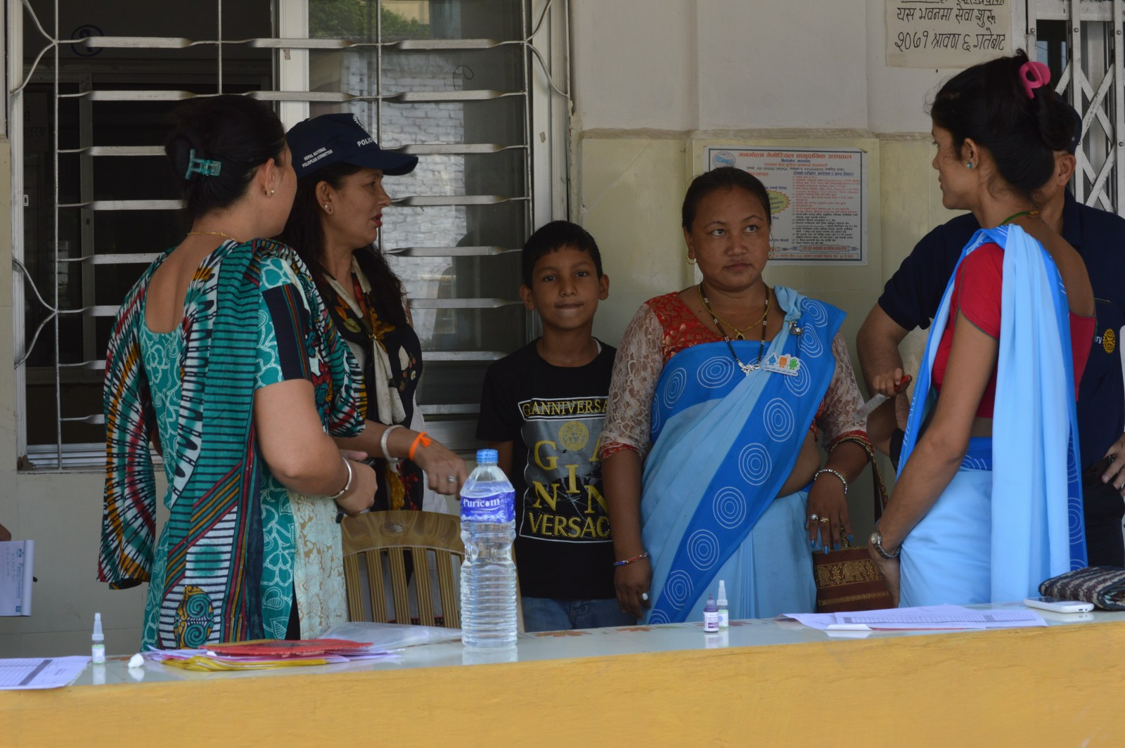 Polio Booth Inspection 1