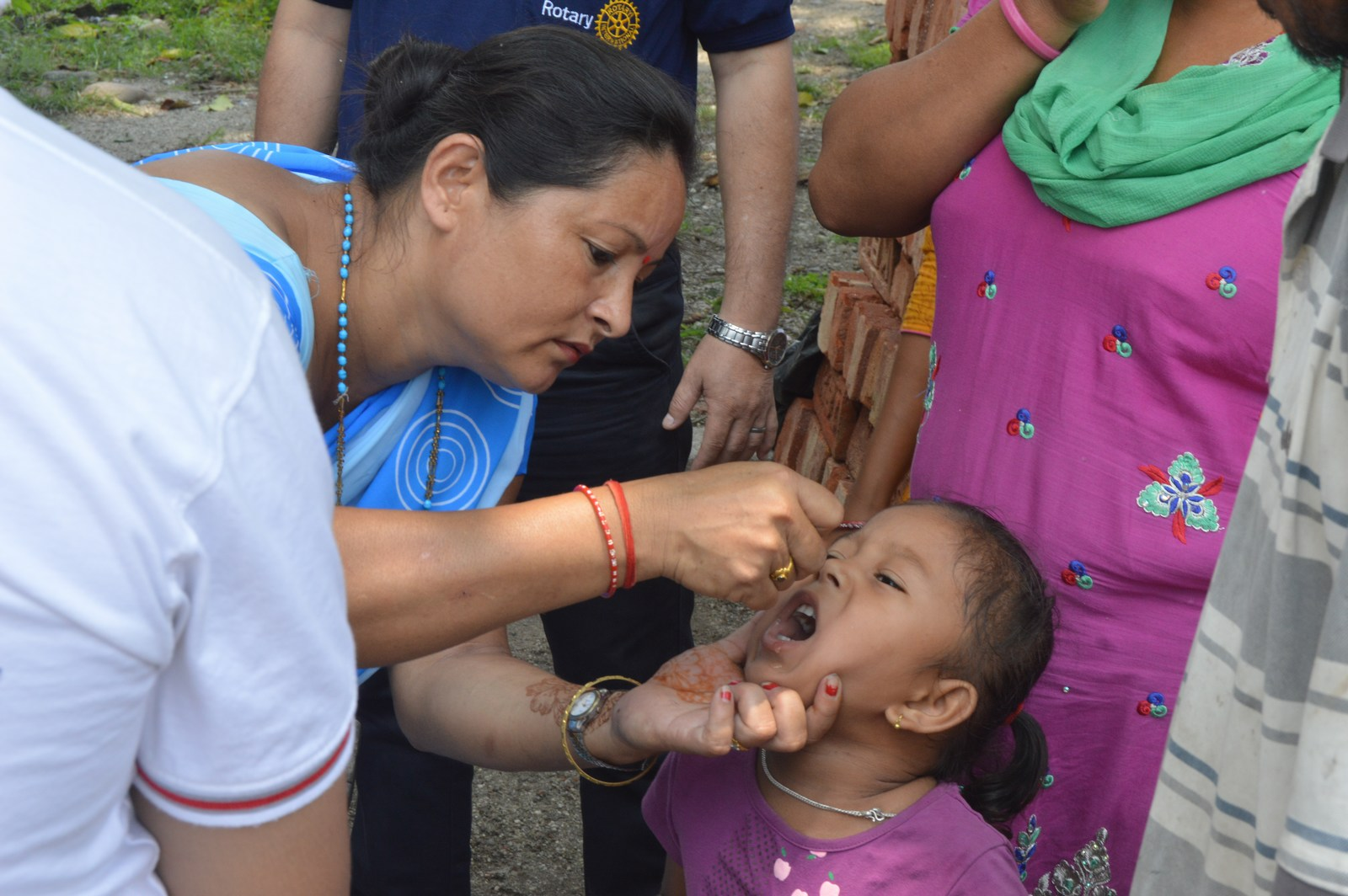 Polio Booth Inspection 13