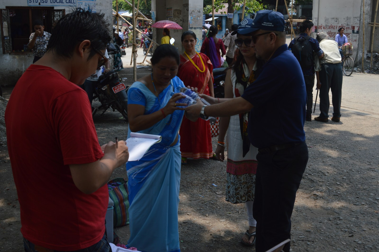 Polio Booth Inspection 15