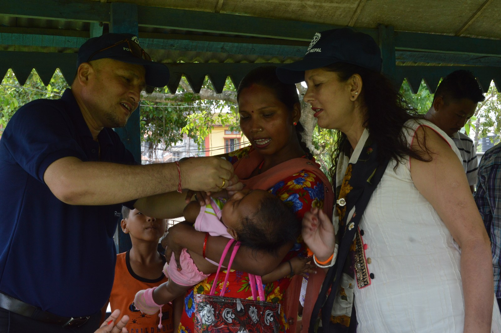 Polio Booth Inspection 22