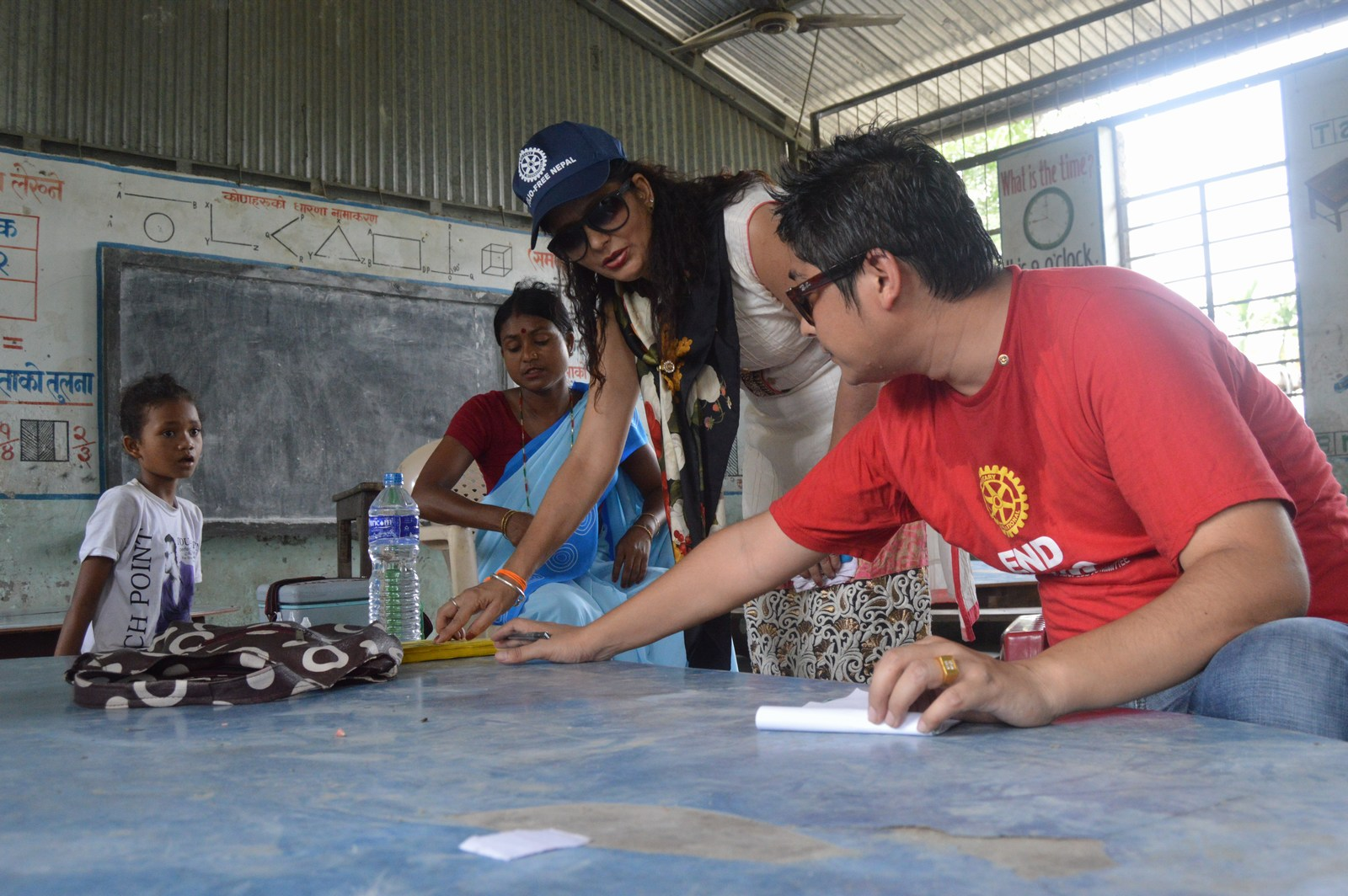 Polio Booth Inspection 30