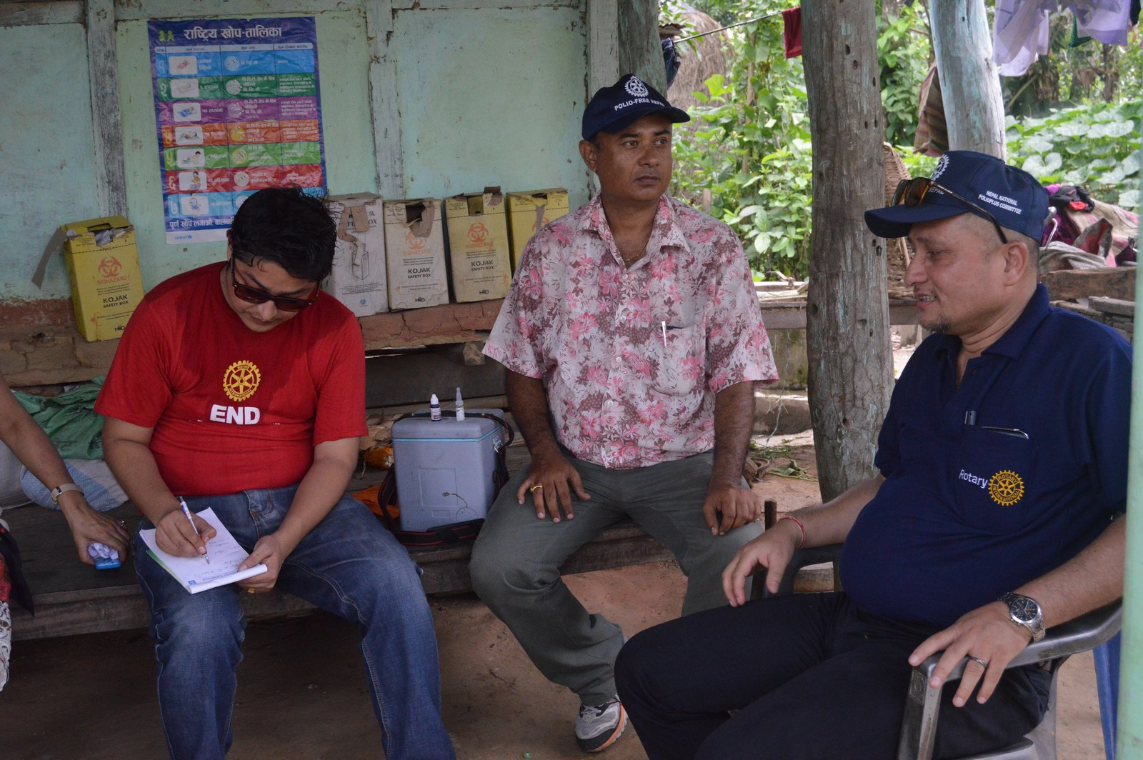 Polio Booth Inspection 39