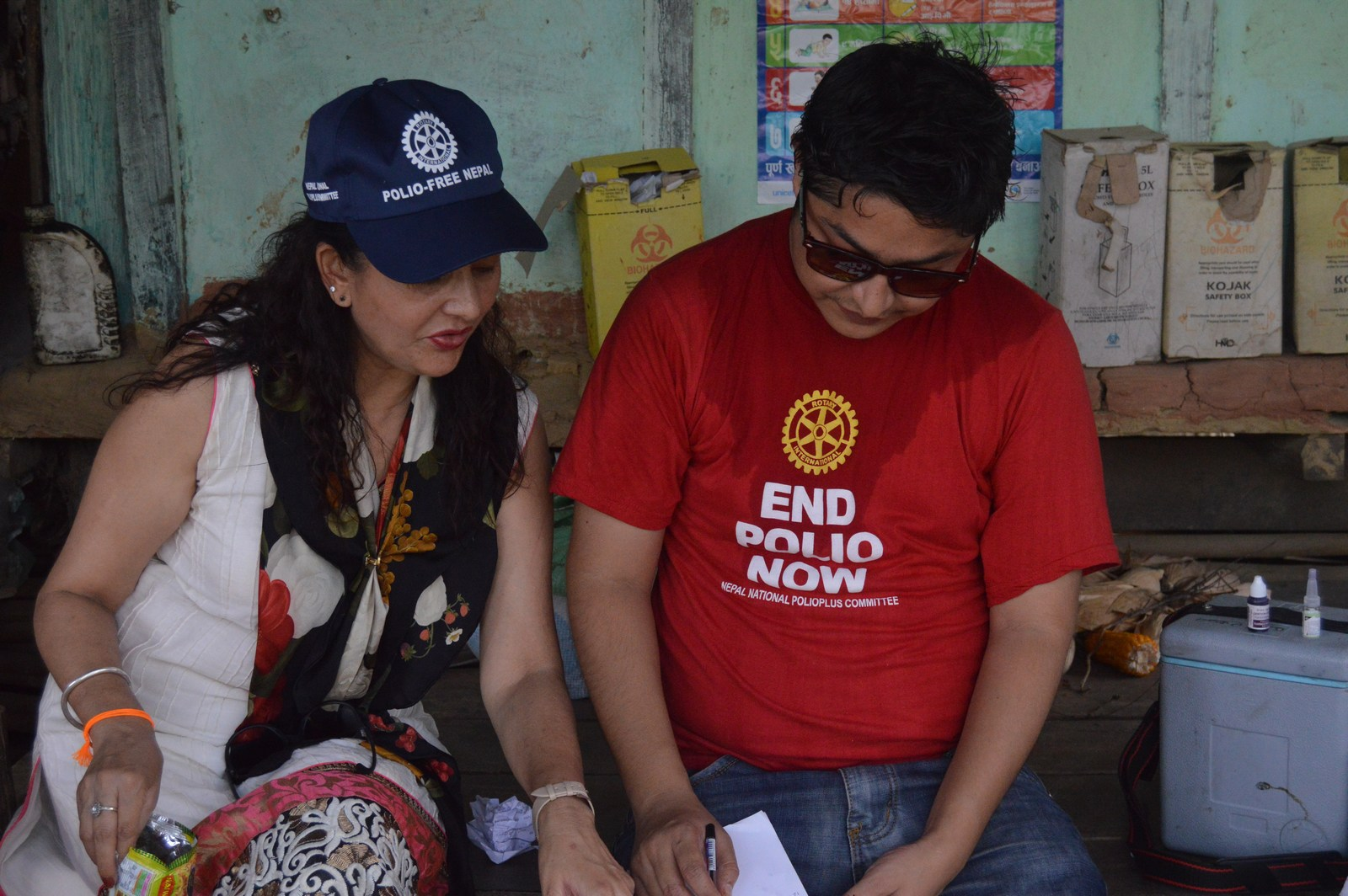 Polio Booth Inspection 40