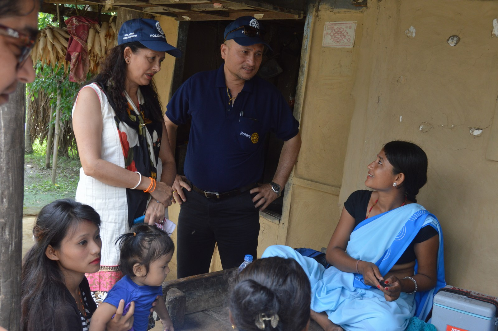 Polio Booth Inspection 43