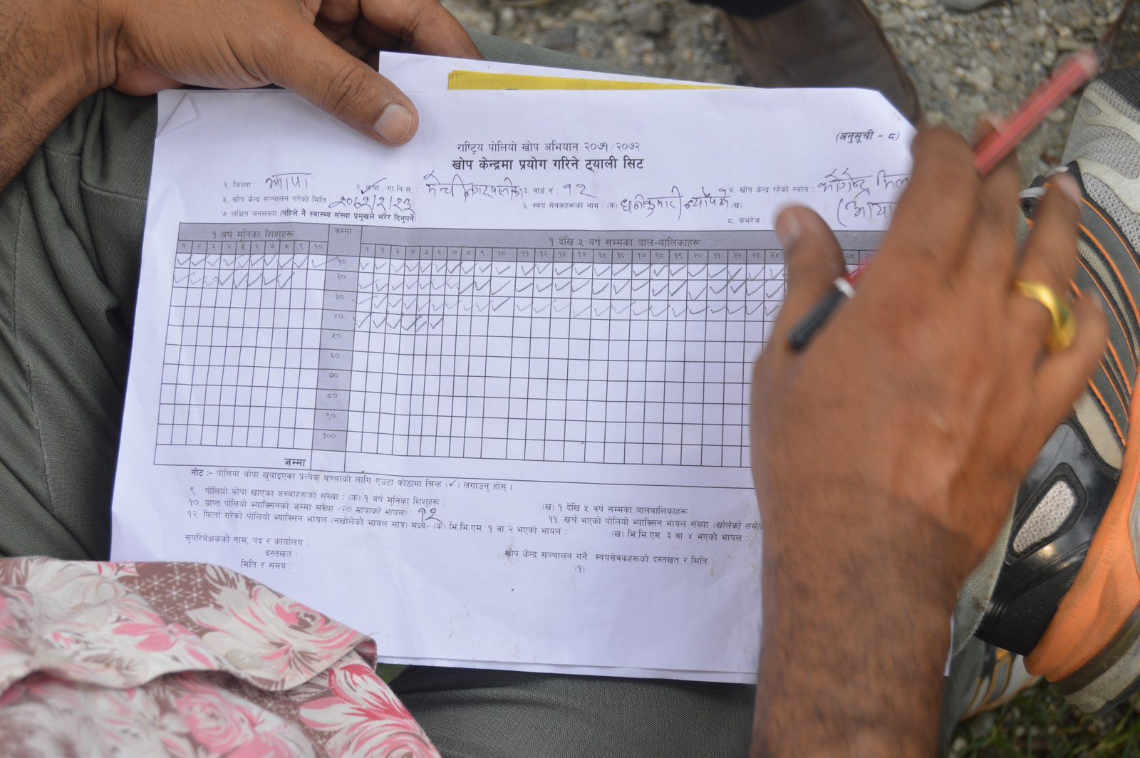 Polio Booth Inspection 55