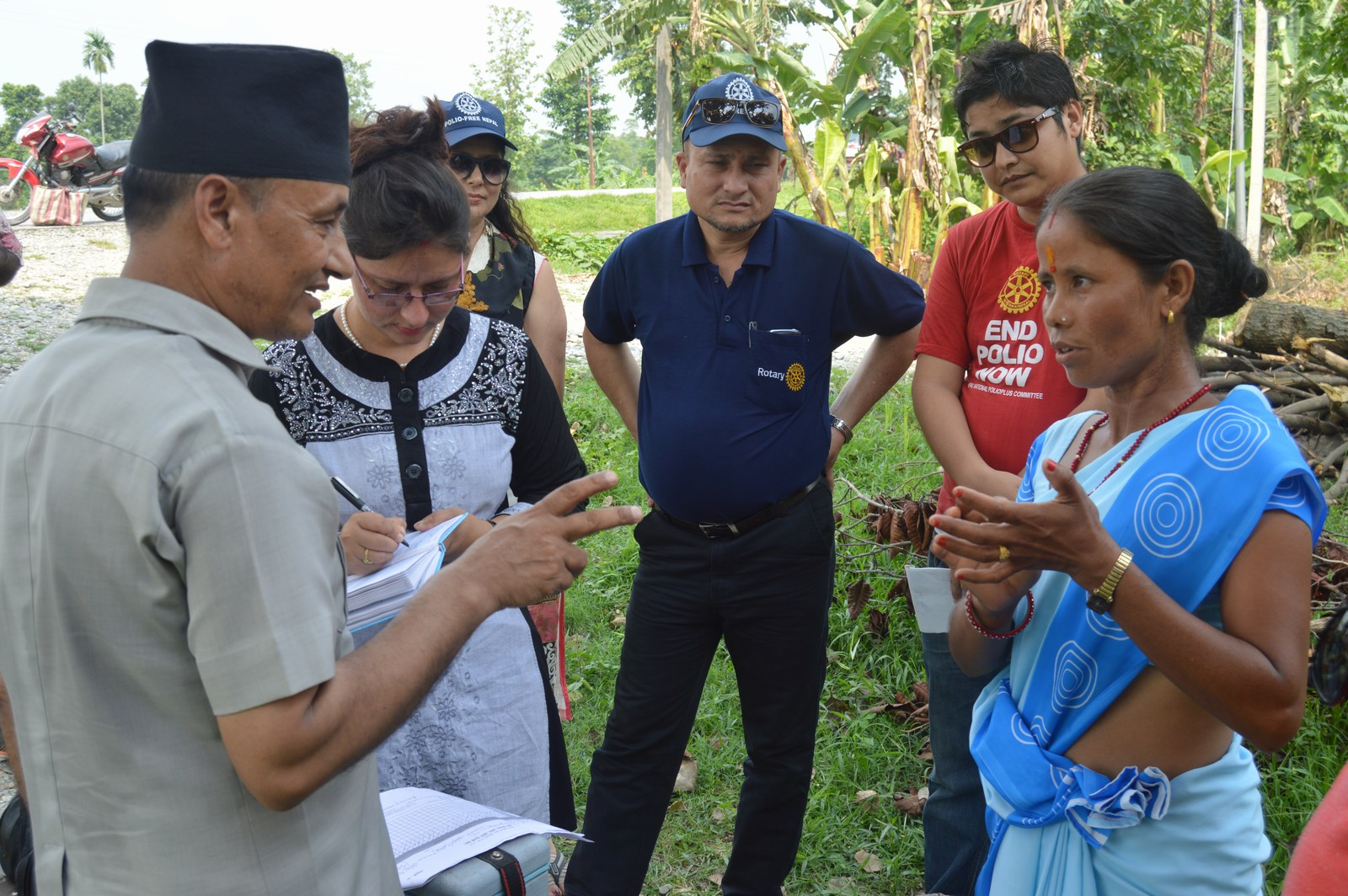 Polio Booth Inspection 58