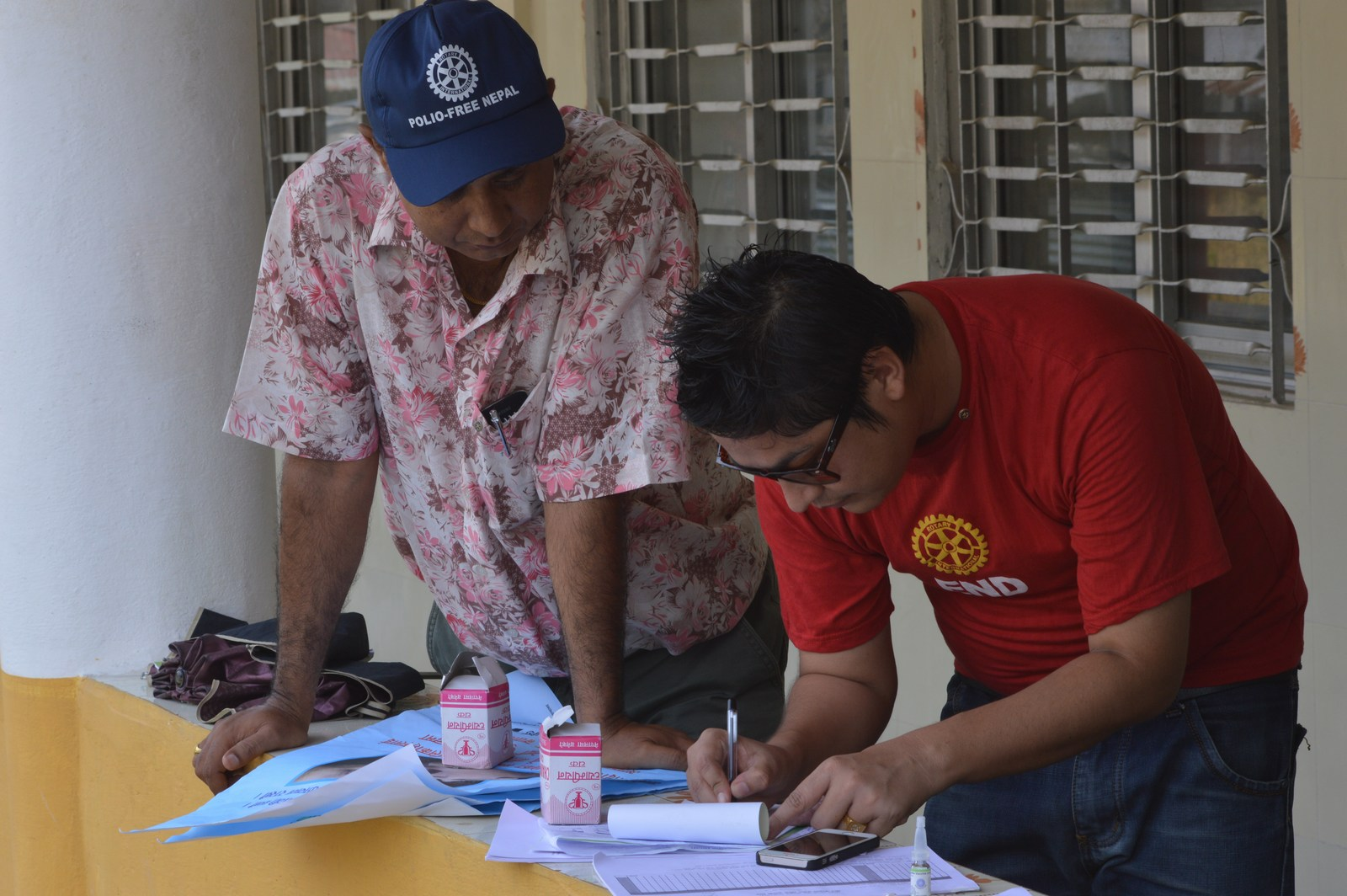 Polio Booth Inspection 62