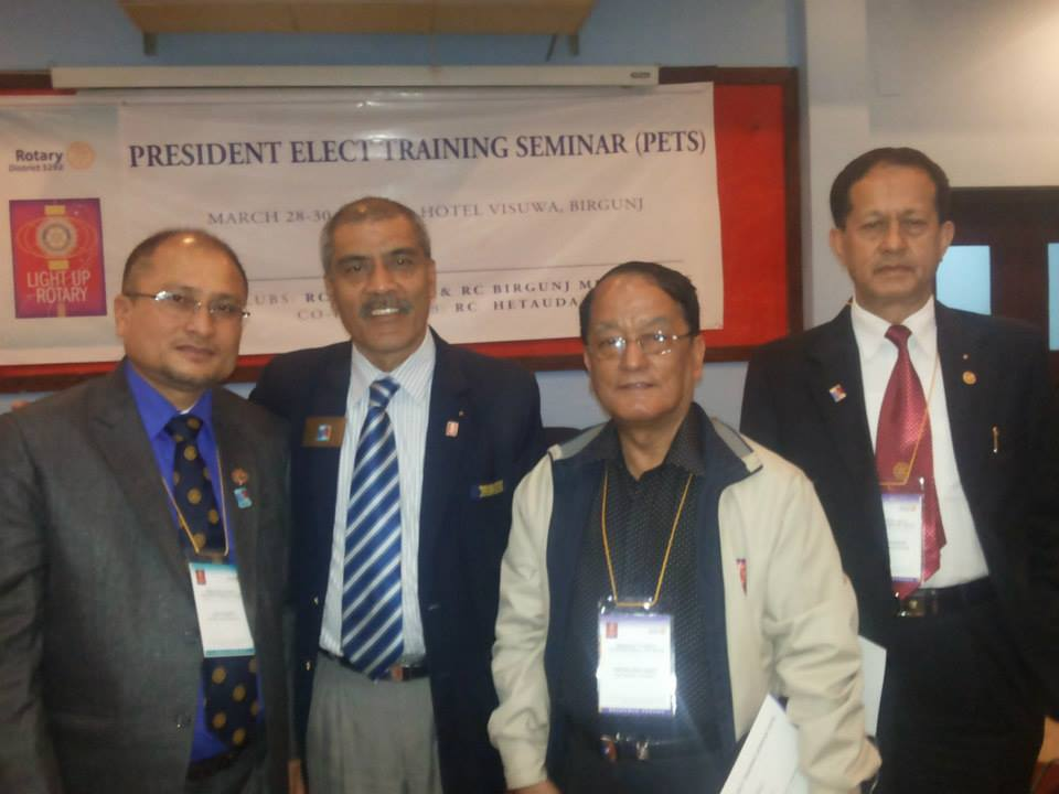 President Elect Training 2014 2
