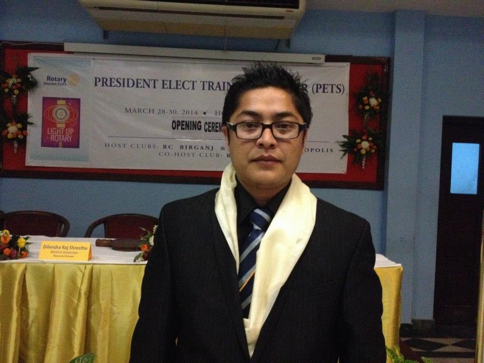 President Elect Training 2014 3 1