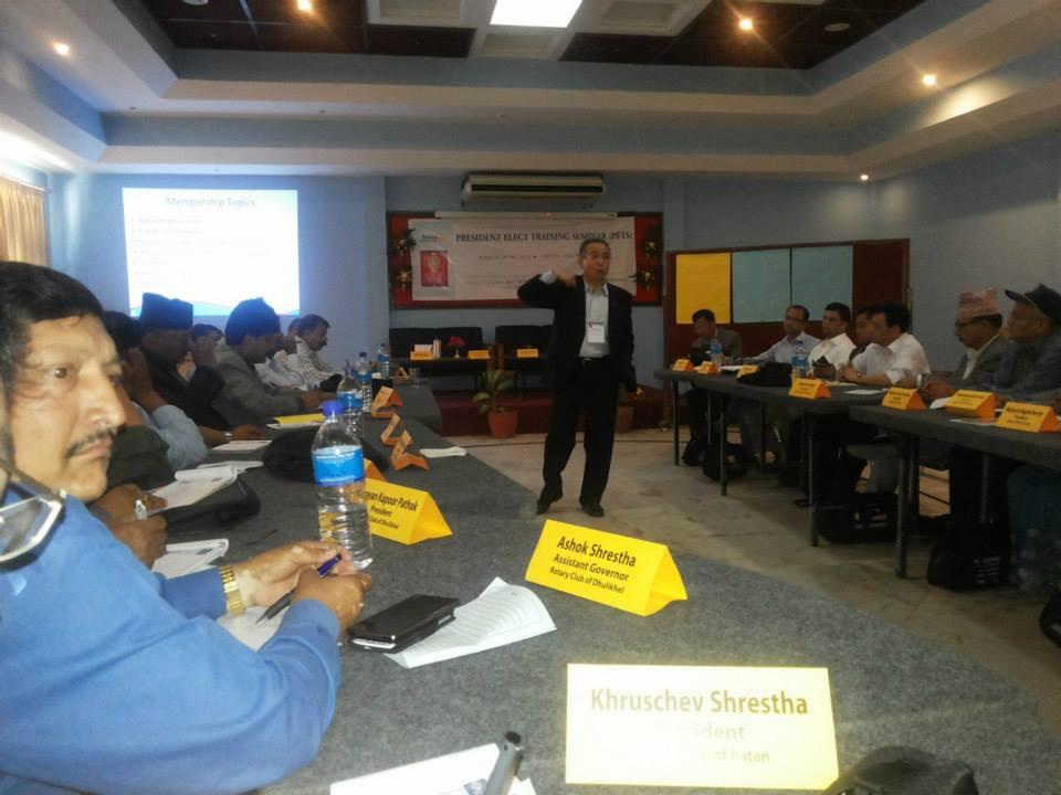 President Elect Training 2014 4 1