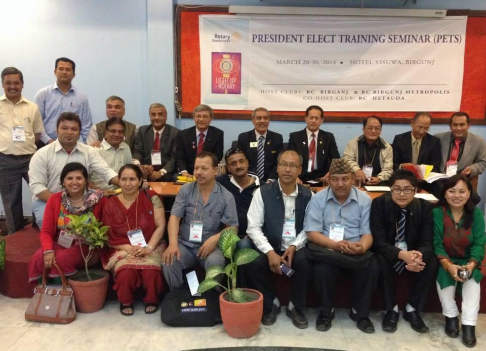 President Elect Training 2014 5 1
