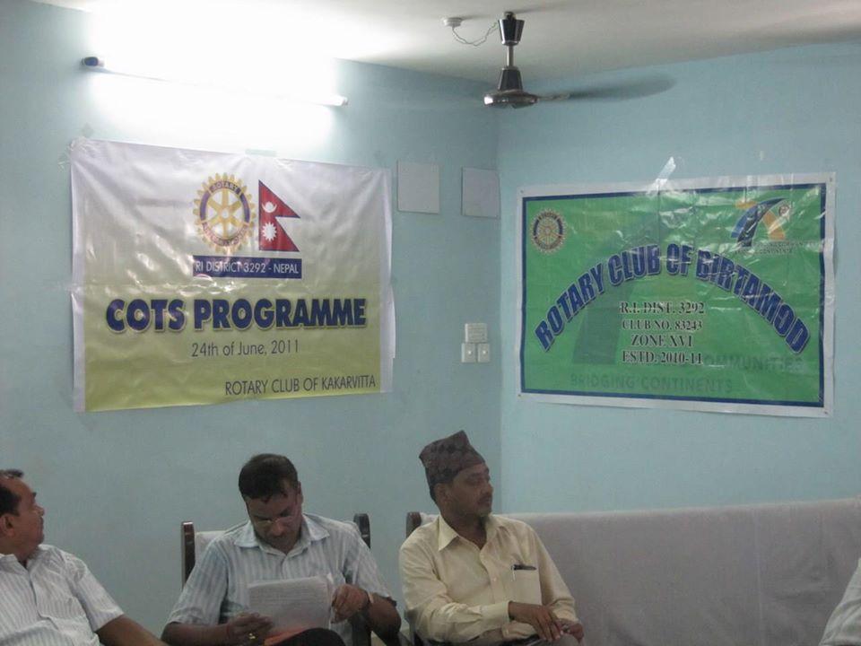 Rc Kakarvitta Cots Programe 2011 12