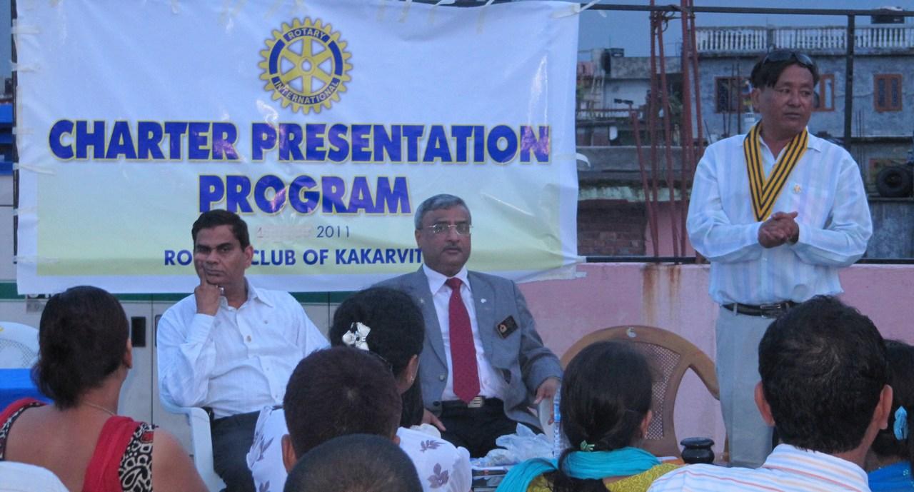 Rotary Club Of Kakarvitta Charter Presentation 13