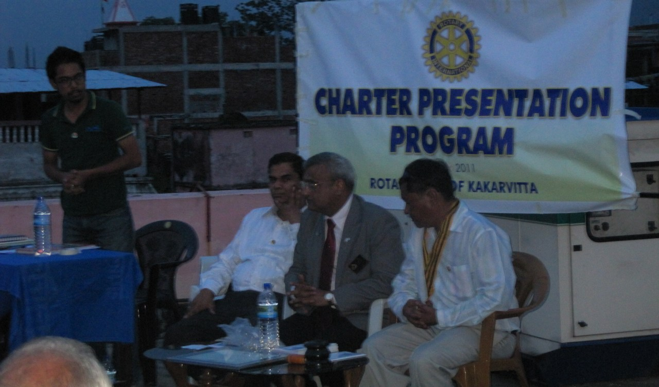 Rotary Club Of Kakarvitta Charter Presentation 14