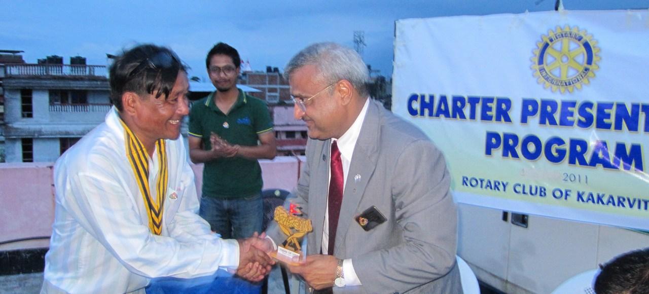 Rotary Club Of Kakarvitta Charter Presentation 15