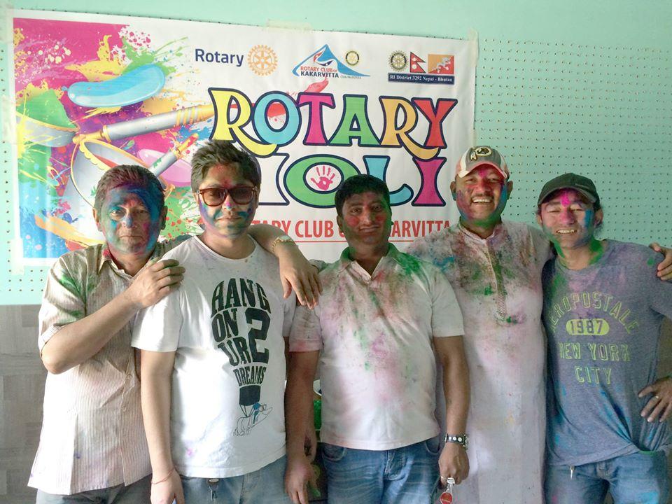Rotary Holi 2071 10