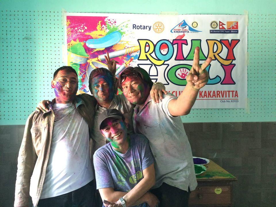 Rotary Holi 2071 6
