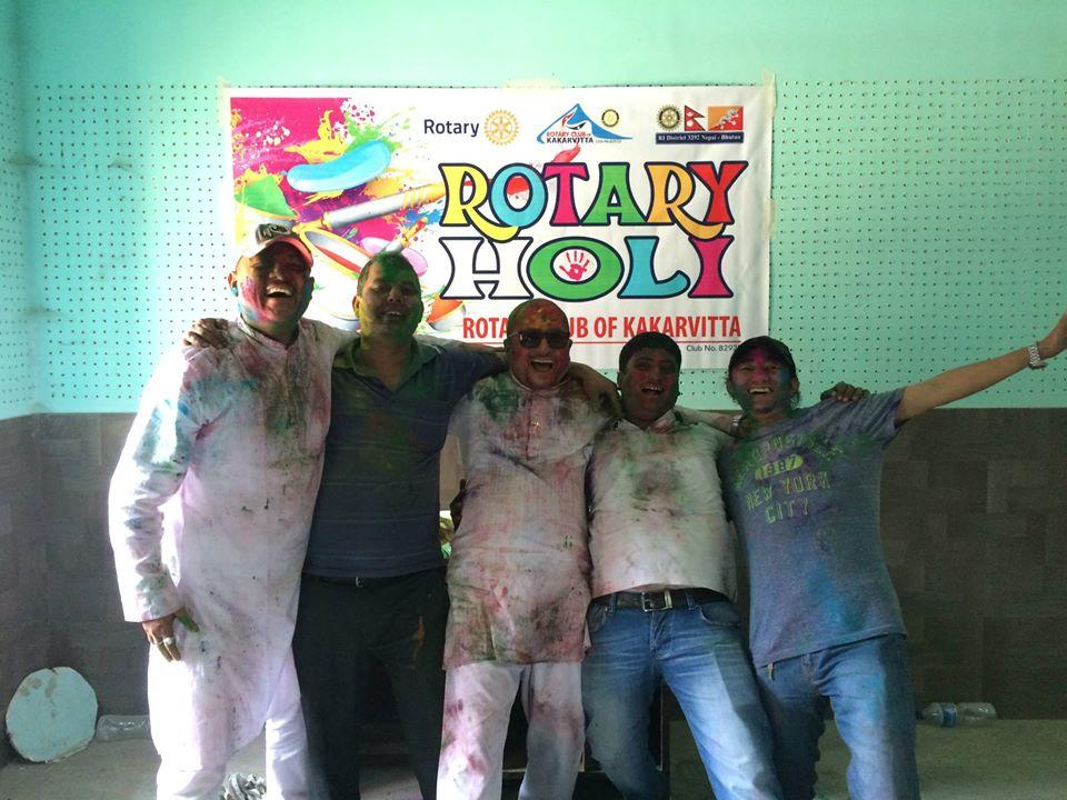 Rotary Holi 2071 8