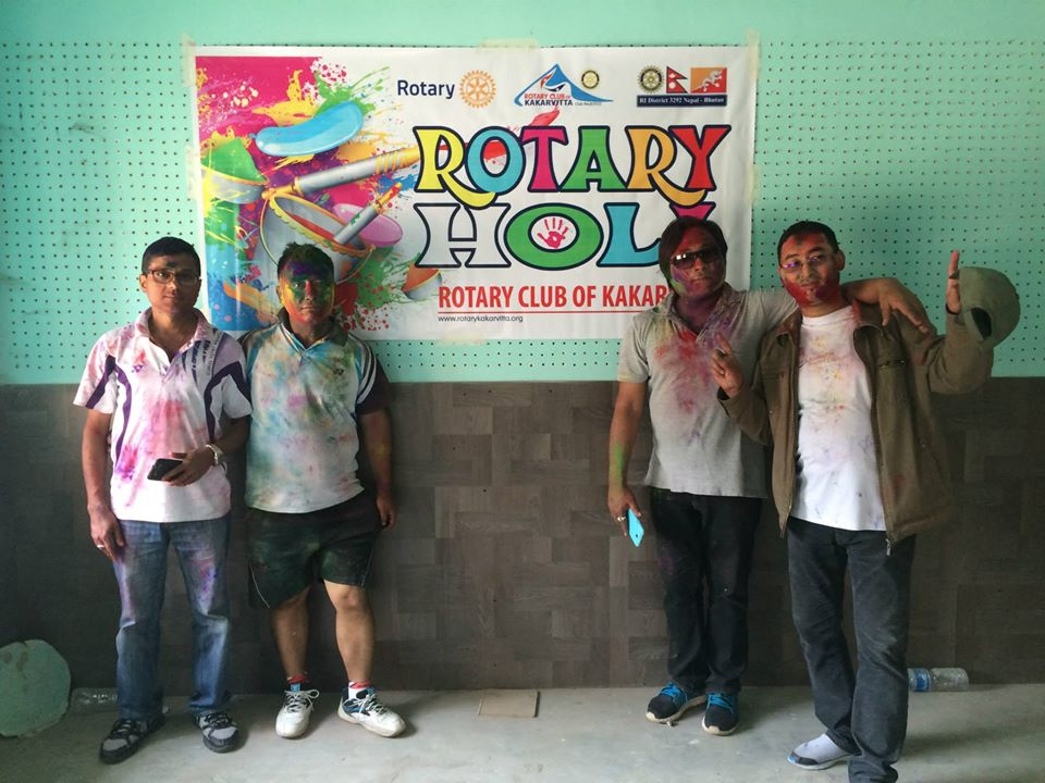 Rotary Holi 2071 9