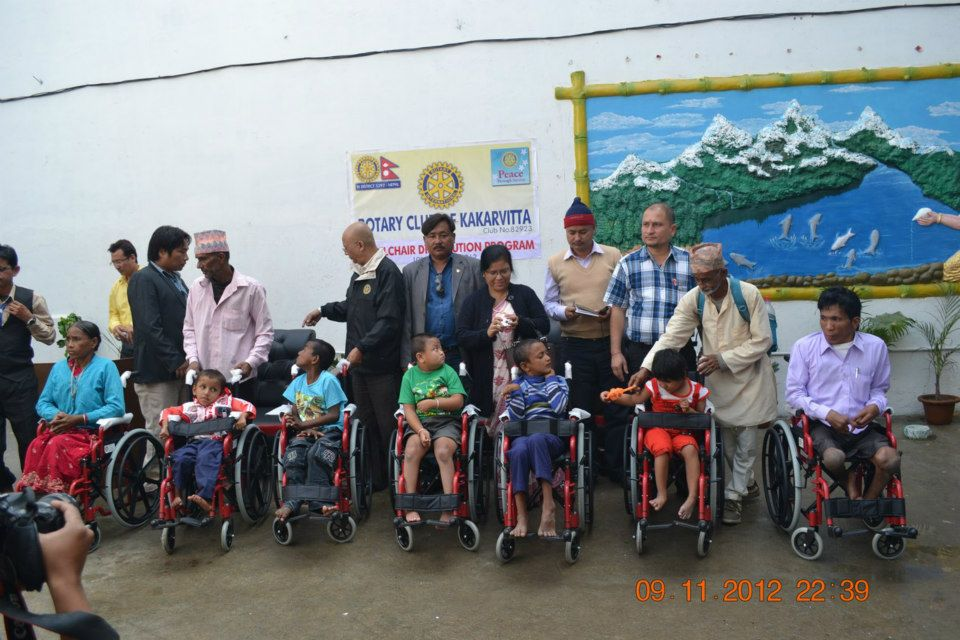 Wheel Chair Distribution Rc Kakarvitta 1