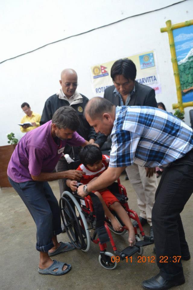 Wheel Chair Distribution Rc Kakarvitta 11