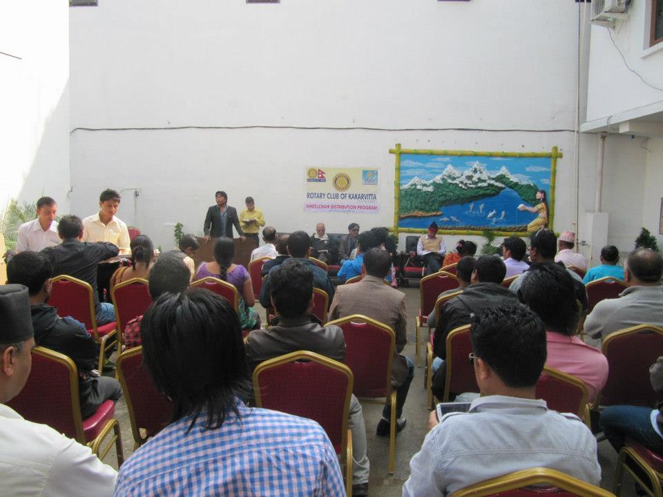 Wheel Chair Distribution Rc Kakarvitta 12