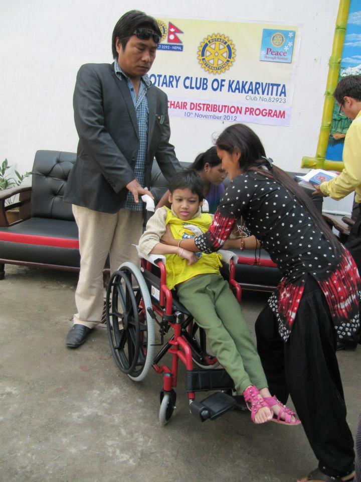 Wheel Chair Distribution Rc Kakarvitta 14