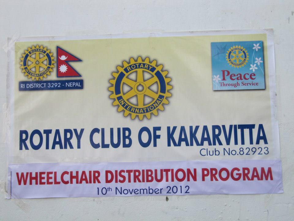 Wheel Chair Distribution Rc Kakarvitta 15