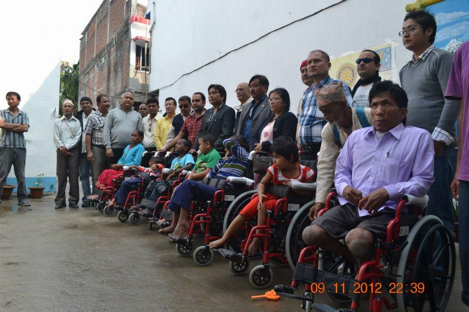 Wheel Chair Distribution Rc Kakarvitta 16