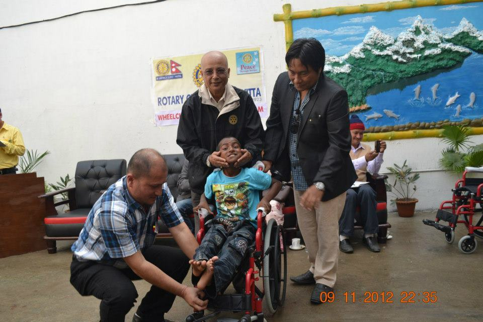 Wheel Chair Distribution Rc Kakarvitta 21