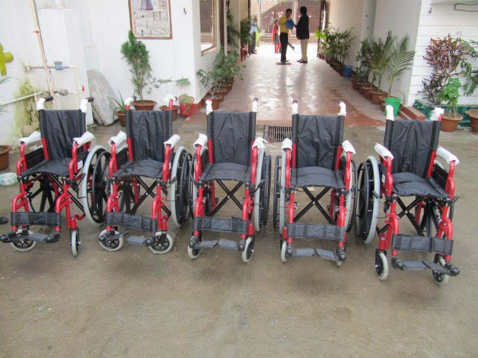 Wheel Chair Distribution Rc Kakarvitta 3