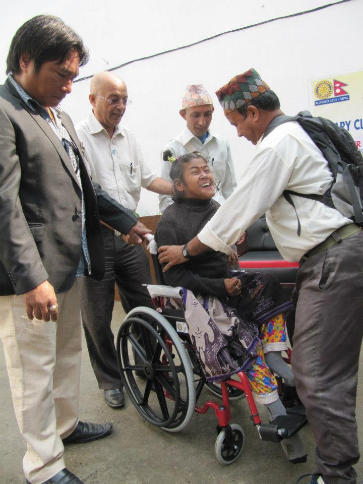 Wheel Chair Distribution Rc Kakarvitta 4